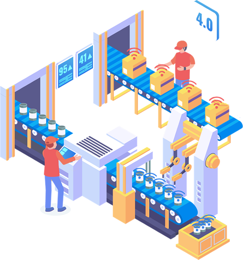 Catena di Produzione RFID